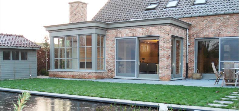 Architect jan van bogaert bvba architectenbureau ontwerpbureau en bouwexpertises - Uitbreiding veranda ...